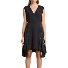 Buy AllSaints Miller Dress Online at johnlewis.com