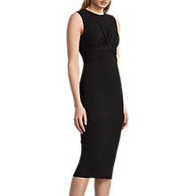 Buy AllSaints Tyne Dress, Black Online at johnlewis.com