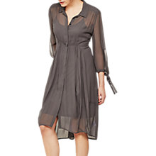 Buy Mint Velvet Ash Cocoon Shirt Dress Online at johnlewis.com