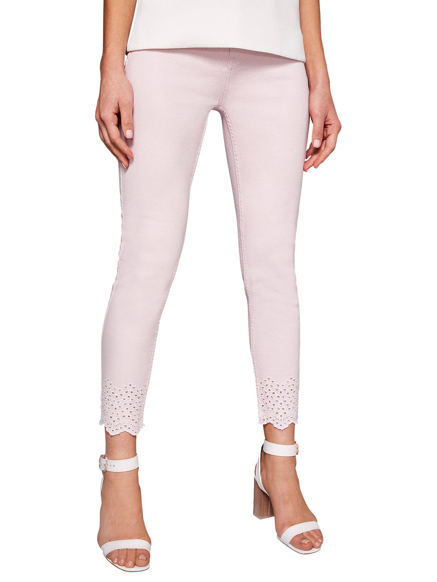 713c15e39 Ted Baker Massiee Embroidered Jeans at John Lewis   Partners