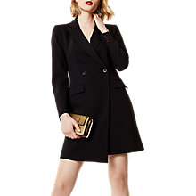 Buy Karen Millen Soft Tailoring Dress, Black Online at johnlewis.com