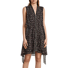 Buy AllSaints Jayda Pepper Dress, Black Online at johnlewis.com