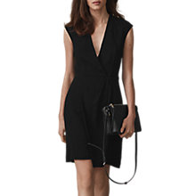 Buy Reiss Ali Workwear Dress, Black Online at johnlewis.com