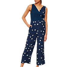 Buy Mint Velvet Brynn Print Jumpsuit, Multi Online at johnlewis.com