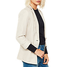 Buy Mint Velvet Boyfriend Blazer, Chalk Online at johnlewis.com