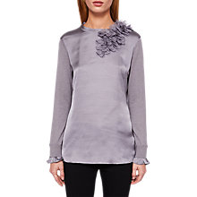 Buy Ted Baker Flower Detail Jumper, Grey Online at johnlewis.com