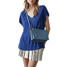 Buy Reiss Sybill Washed Silk T-Shirt Online at johnlewis.com