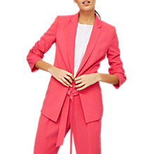 Buy Mint Velvet Tailored Blazer, Fuschia Online at johnlewis.com
