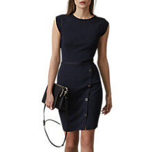 Buy Reiss Jetta Bodycon Dress, Midnight Online at johnlewis.com