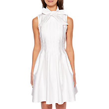 Buy Ted Baker Doora Bow Tie Neck Dress Online at johnlewis.com