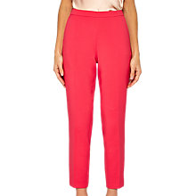 Buy Ted Baker Anitat Tailored Ankle Grazer Trousers, Deep Pink Online at johnlewis.com
