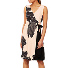Buy Mint Velvet Katie Print Wrap Dress, Multi Online at johnlewis.com