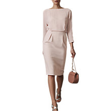 Buy Reiss Hannie Fitted Dress Online at johnlewis.com