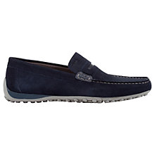 Buy Geox Snake Leather Moccasins Online at johnlewis.com