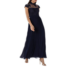 Buy Coast Jen Lace Maxi Dress, Navy Online at johnlewis.com