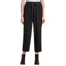 Buy AllSaints Tailia Trousers, Black Online at johnlewis.com