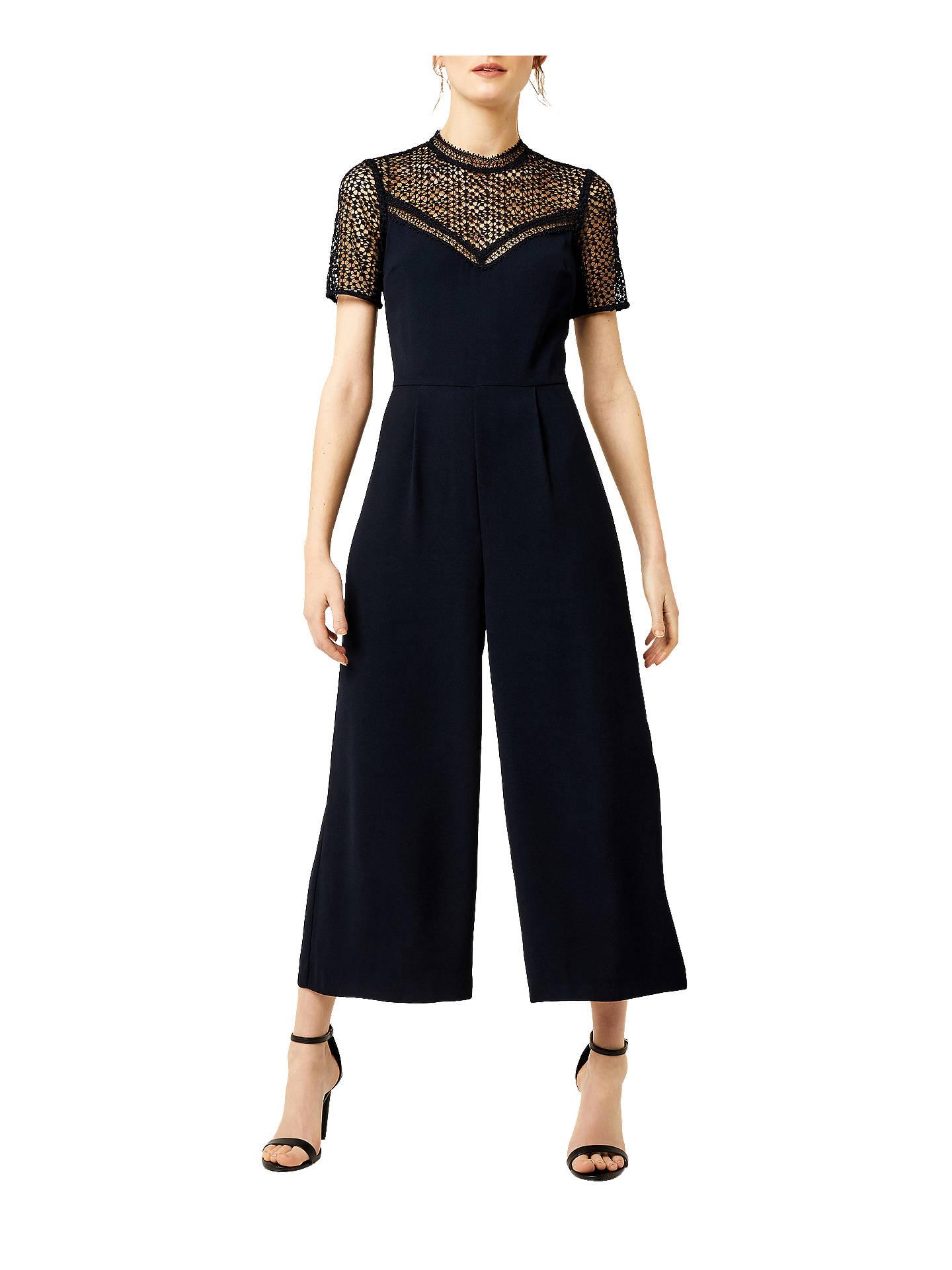 2a1363579e6 Buy Warehouse Crepe Lace Jumpsuit