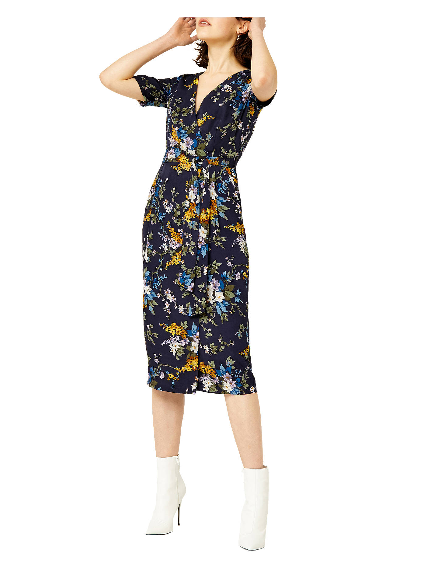 678d7dac7c94 Buy Warehouse Trailing Floral Midi Dress