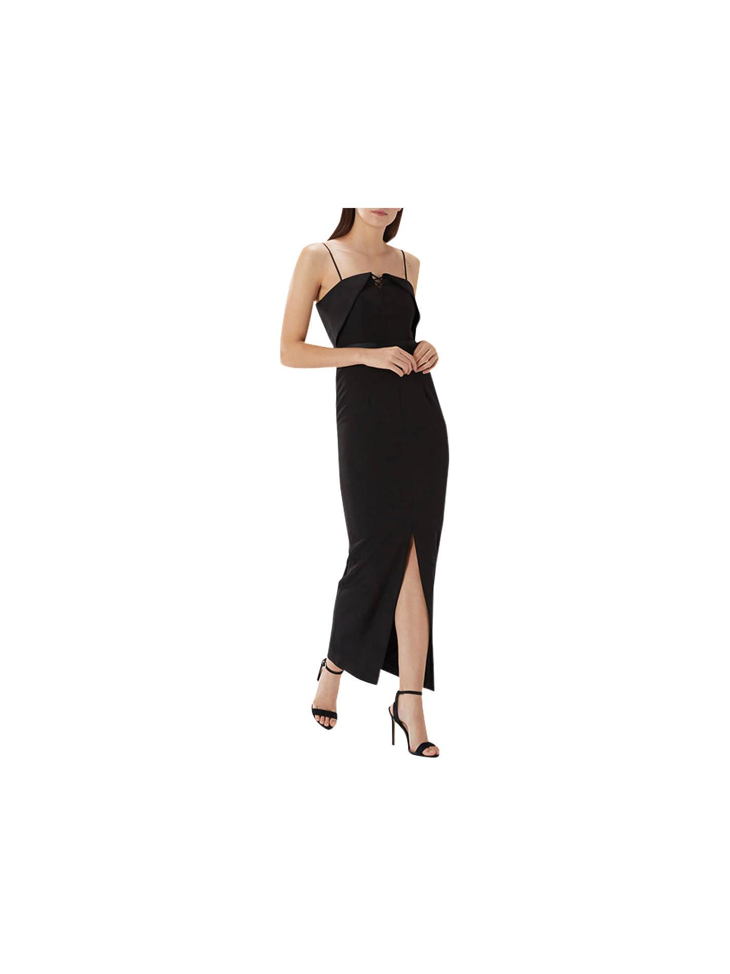 ff124ed65599 Buy Coast Daffodil Eyelet Maxi Dress, Black, 6 Online at johnlewis.com ...