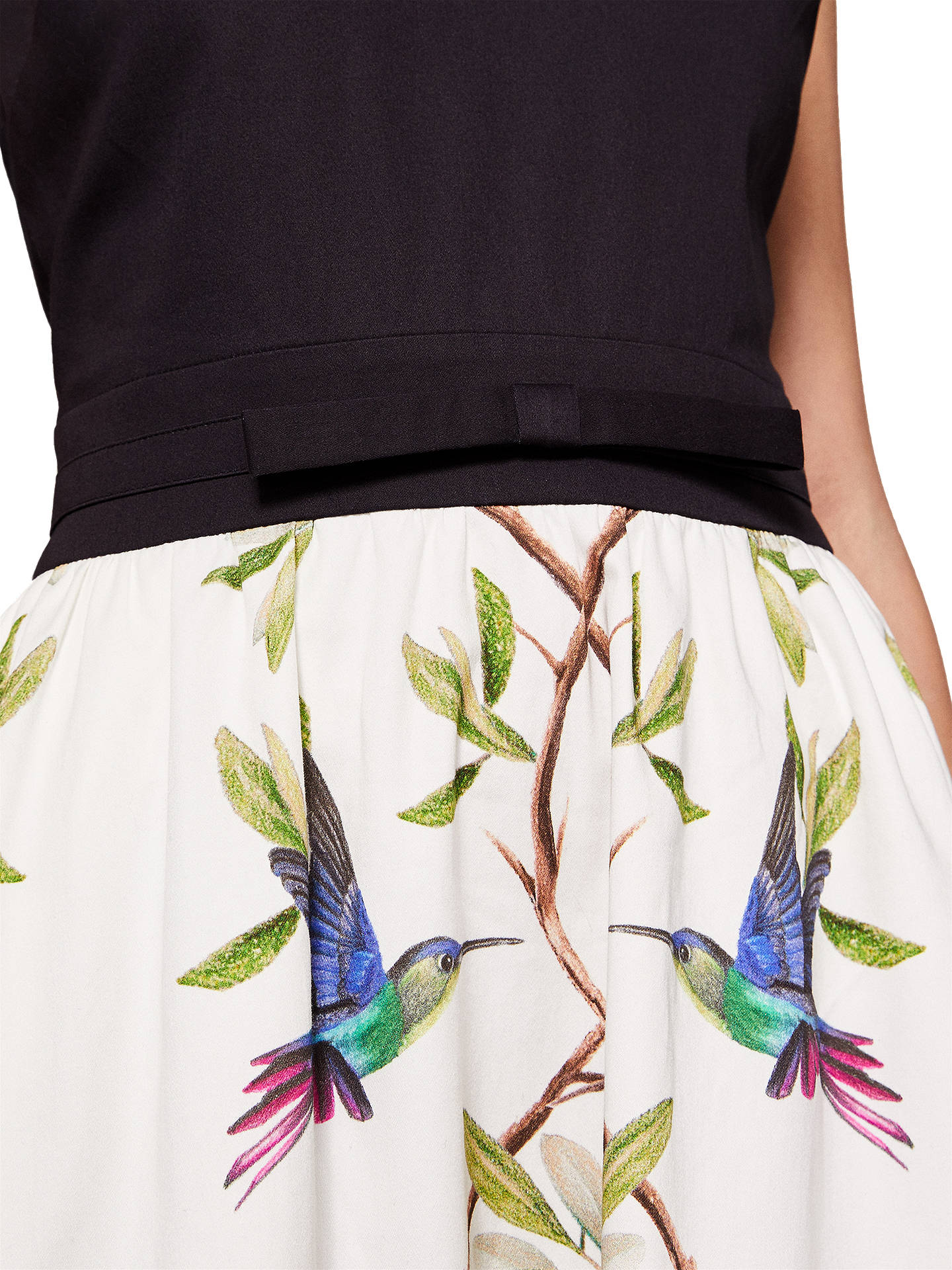 New Ted Baker Reice Highgrove V-neck Cotton Dress Sz 3,4,5