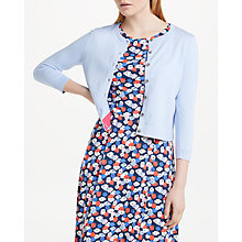 Buy Boden Favourite Crop Crew Neck Cardigan Online at johnlewis.com