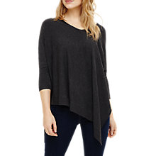 Buy Phase Eight Ally Asymmetric Jumper, Grey Marl Online at johnlewis.com