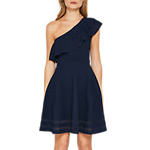 Buy Ted Baker Streena One Shoulder Knitted Dress Online at johnlewis.com