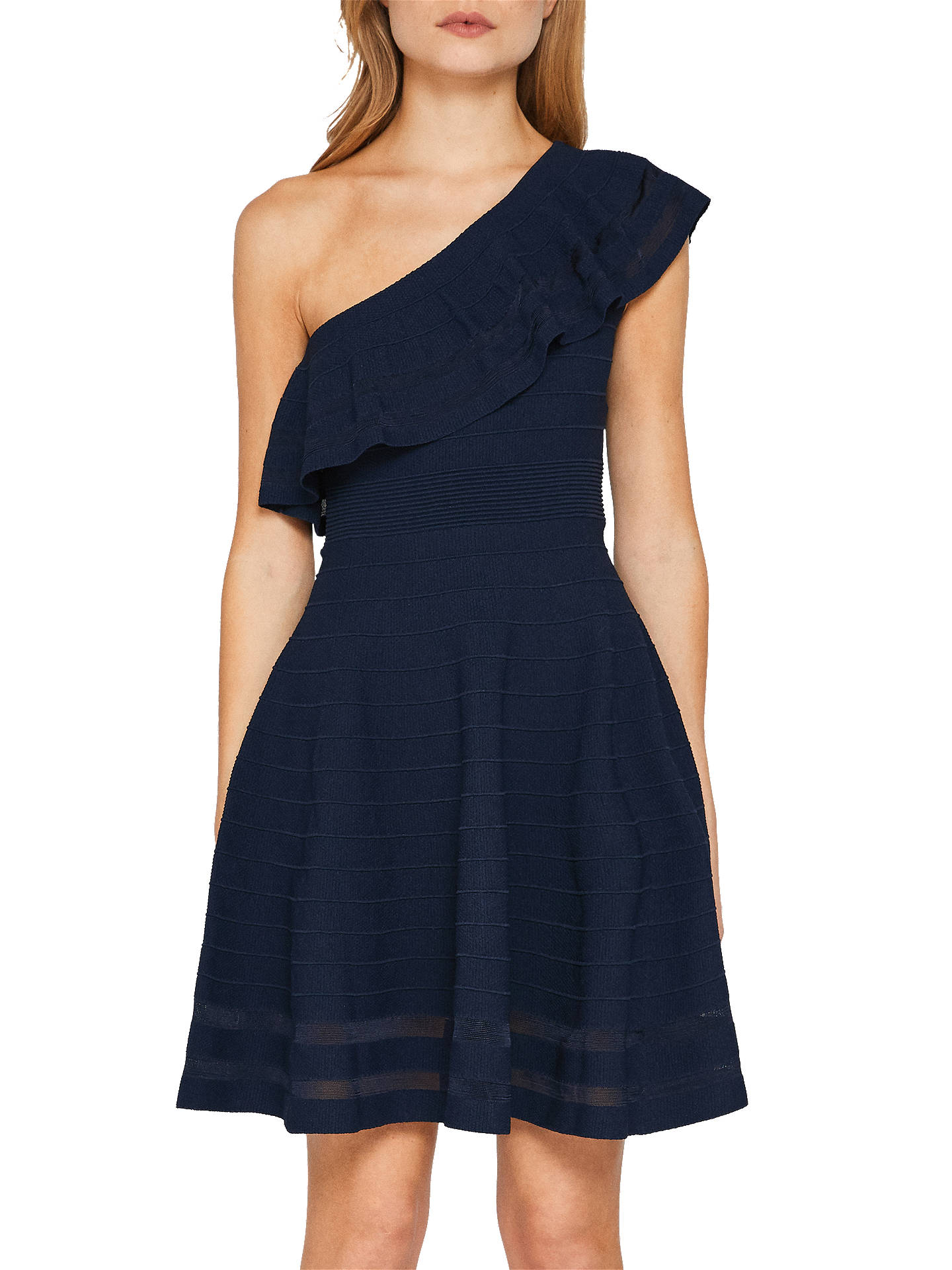 83c9a78fd72 BuyTed Baker Streena One Shoulder Knitted Dress