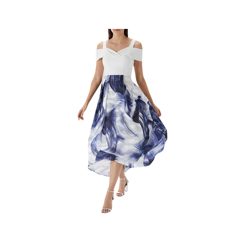 BuyCoast Lira Jacquard Dress, Multi, 6 Online at johnlewis.com ...