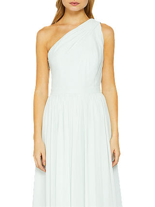 Buy Ted Baker Petrra One Shoulder Maxi Dress, Mint, 2 Online at johnlewis.com