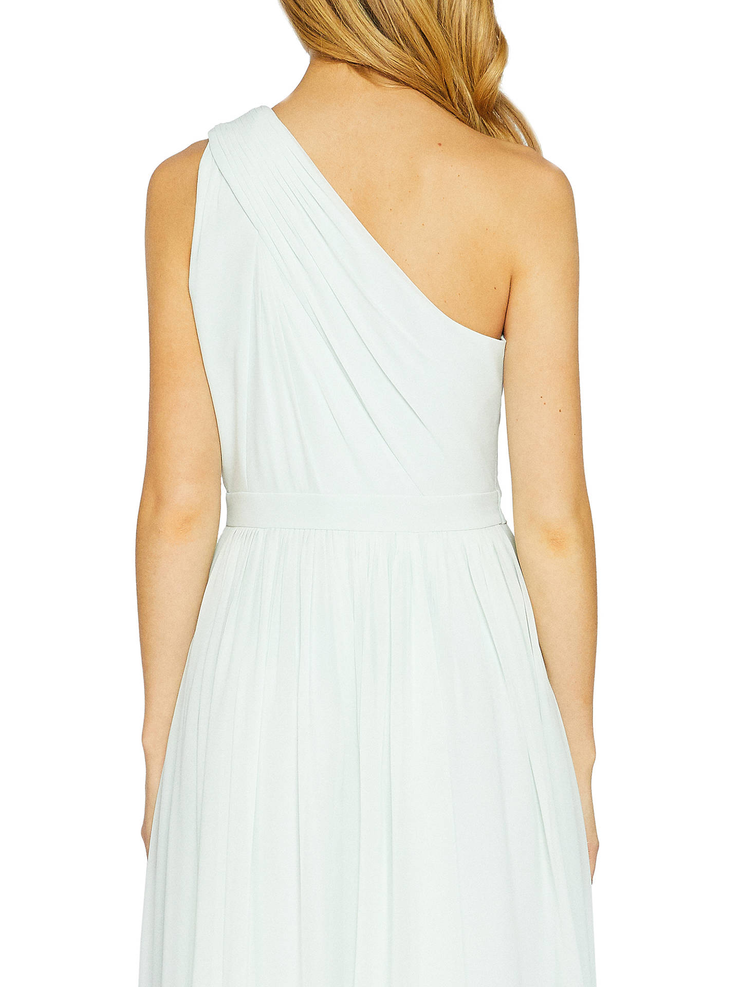 BuyTed Baker Petrra One Shoulder Maxi Dress, Mint, 0 Online at johnlewis.com