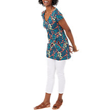 Buy White Stuff Botanical Garden Jersey Tunic, Multi Online at johnlewis.com