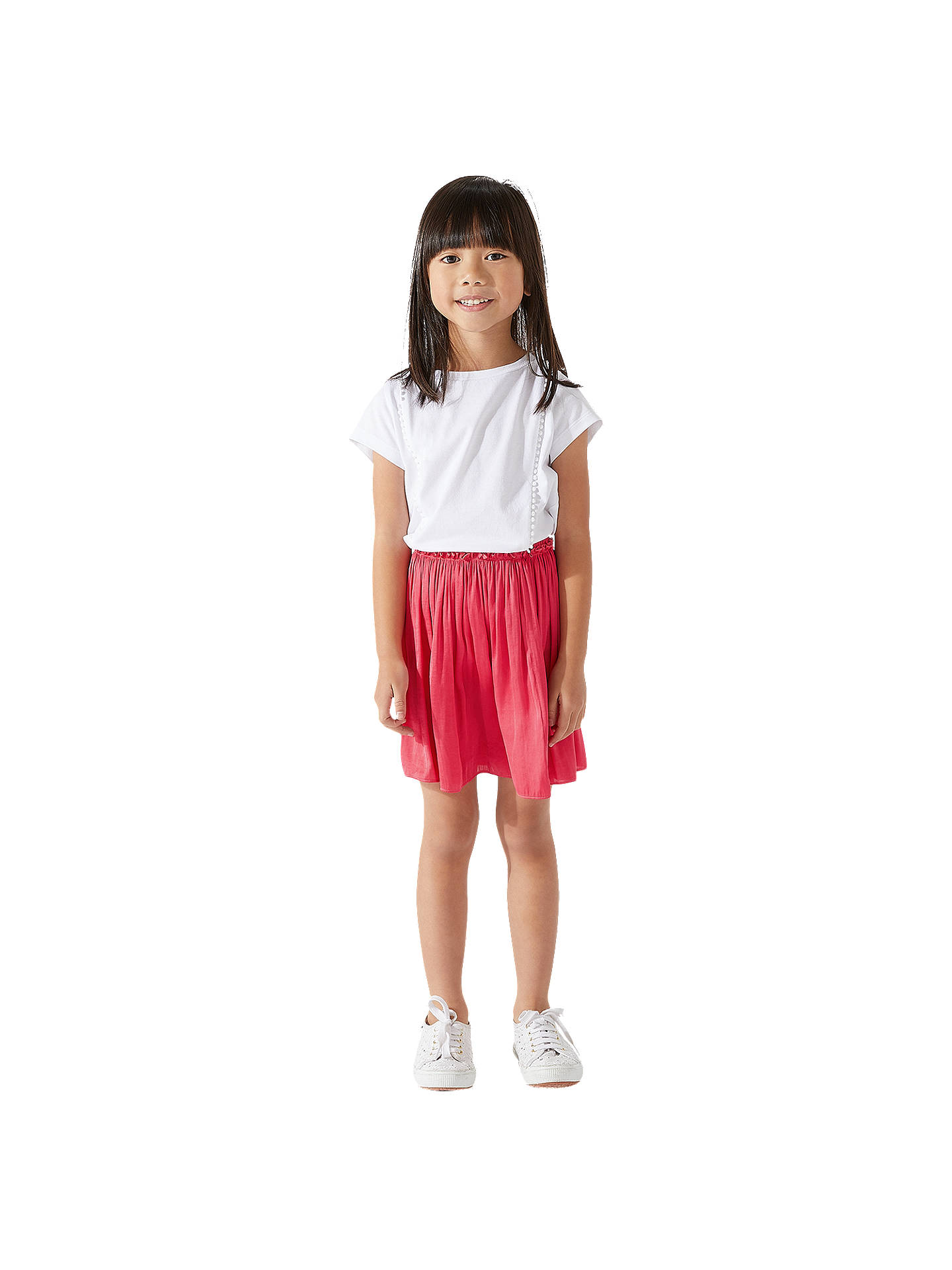 Buyjigsaw Girls Drape Mini Skirt Hot Pink 4 5 Years Online At