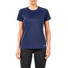Buy 2XU Xvent Short Sleeve Top, Navy Online at johnlewis.com