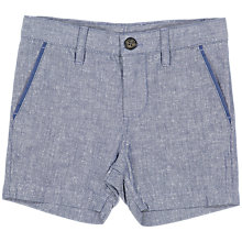 Buy Polarn O. Pyret Baby Chino Shorts, Blue Online at johnlewis.com