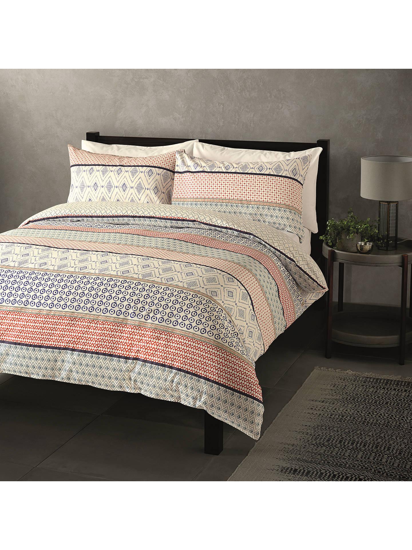 John Lewis Amp Partners Nisha Stripe Duvet Cover Set Multi
