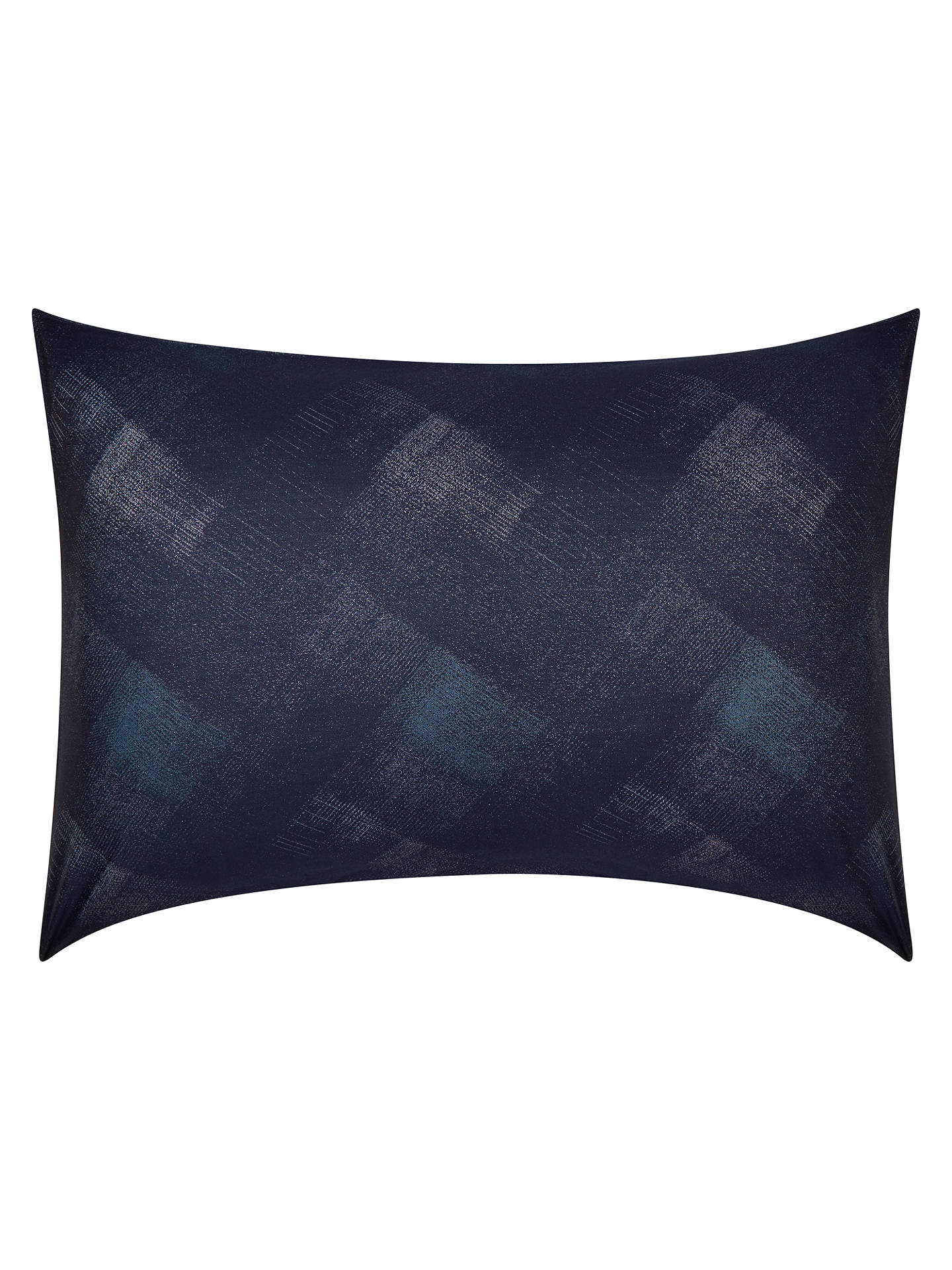 BuyDesign Project by John Lewis No.154 Standard Pillowcase, Blue Online at johnlewis.com