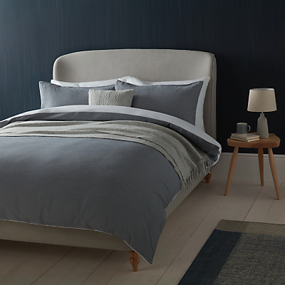 Croft Collection Elgin Weave Bedding, Grey / White