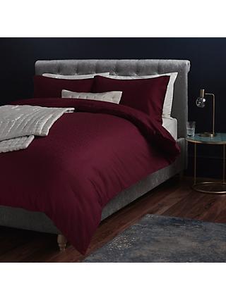 John Lewis Partners Textured And Decorative Pavone Duvet Cover Pillowcase Set
