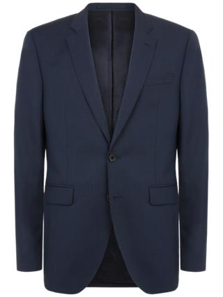 Jaeger Micro Weave Slim Fit Suit Jacket, Navy
