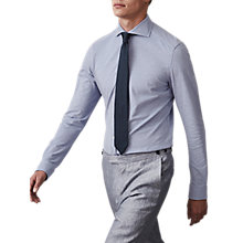 Buy Reiss Nate Pique Weave Slim Fit Shirt Online at johnlewis.com