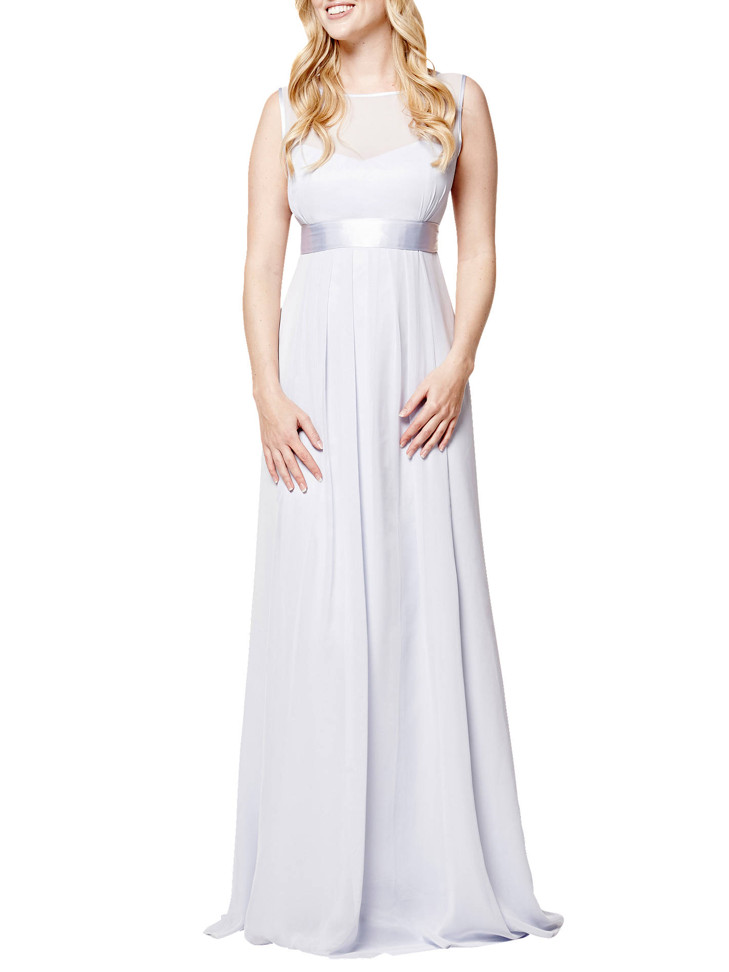 Buy Maids to Measure Camilla Dress, Cloud, 18 Online at johnlewis.com