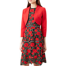 Buy Hobbs Kaley Jacket, Red Online at johnlewis.com