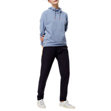 Buy White Stuff Casual Cowl Neck Sweater, Blue Online at johnlewis.com