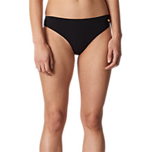Buy Whistles Santiago Bikini Briefs, Black Online at johnlewis.com