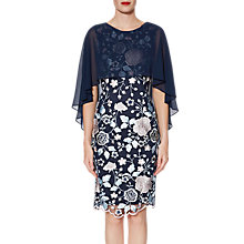 Buy Gina Bacconi Jacquelin Dress And Chiffon Cape Online at johnlewis.com
