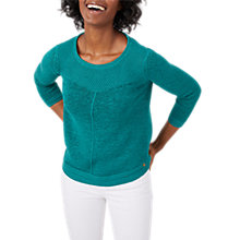 Buy White Stuff Gardinia Jumper, Garden Green Online at johnlewis.com