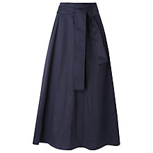 Buy L.K.Bennett Lianne Obie Belt Skirt, Sloane Blue Online at johnlewis.com