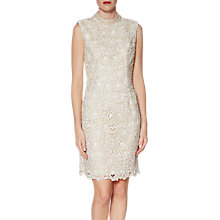 Buy Gina Bacconi Juno Lace Dress And Chiffon Scarf Online at johnlewis.com