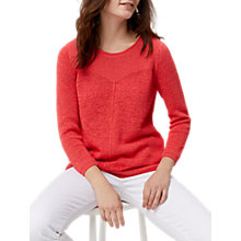 Buy White Stuff Gardinia Jumper, Orange Online at johnlewis.com